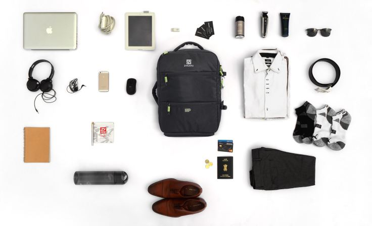 Zingaro-black-Backpack-35-features-travel-and-daily-commute